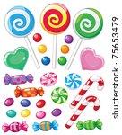 raster version illustration of... | Shutterstock . vector #75653479