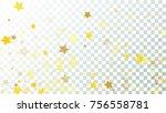 falling stars backdrop.... | Shutterstock .eps vector #756558781
