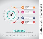 time for success  template...   Shutterstock .eps vector #756559549