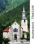 Church In Chamonix  France ...