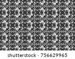 raster seamless rhombus and... | Shutterstock . vector #756629965
