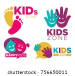 kids place with entertainments...   Shutterstock .eps vector #756650011
