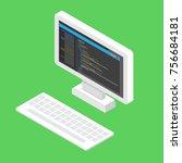 html code website. desktop...