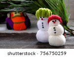 car transport pine tree for... | Shutterstock . vector #756750259