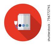vector illustration of triballs ... | Shutterstock .eps vector #756772741