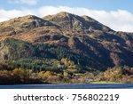 ben venue and loch achray   Shutterstock . vector #756802219