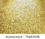 Golden Shining Mosaic...