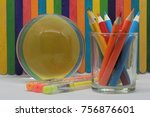 concept of education or back to ... | Shutterstock . vector #756876601