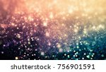 interesting holiday abstract... | Shutterstock . vector #756901591