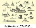Old Castle Illustration