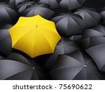 lots of umbrellas