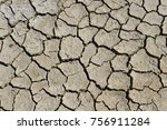 Dry Soil Cracking