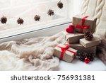 Present Boxes. Home Decoration...