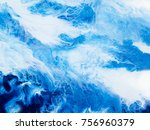 creative abstract hand painted... | Shutterstock . vector #756960379