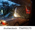 close up of droplets of water... | Shutterstock . vector #756993175