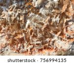 abstract crystalline limestone  ... | Shutterstock . vector #756994135