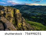 Sunset In Golden  Colorado