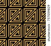 greek style ornamental... | Shutterstock .eps vector #757059829