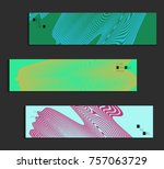minimal banner templates with... | Shutterstock .eps vector #757063729