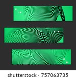 minimal banner templates with... | Shutterstock .eps vector #757063735