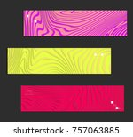 minimal banner templates with... | Shutterstock .eps vector #757063885