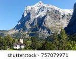grindelwald  switzerland   21... | Shutterstock . vector #757079971