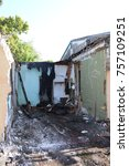 Small photo of a demolished house