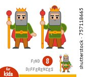 find differences  education...   Shutterstock .eps vector #757118665