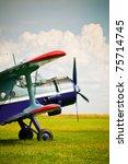 Vintage Single Engine Biplane...