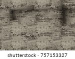 gray antique background pattern.... | Shutterstock . vector #757153327