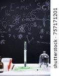 kids science lab | Shutterstock . vector #757171201