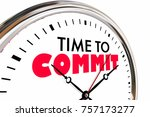 time to commit vow promise... | Shutterstock . vector #757173277