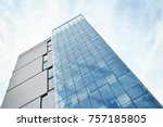 modern apartment buildings on a