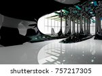 abstract dynamic interior with...   Shutterstock . vector #757217305