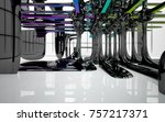 abstract dynamic interior with...   Shutterstock . vector #757217371