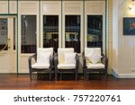 sofa chair sitting in the...   Shutterstock . vector #757220761
