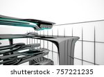 abstract dynamic interior with...   Shutterstock . vector #757221235