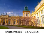 Wilanow Palace In Warsaw On A...