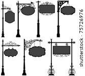 Signage Shop Sign Route Pole...