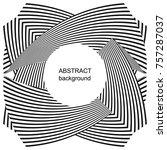 abstract halftone creative... | Shutterstock .eps vector #757287037