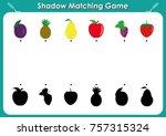 kindergarten worksheets to help ... | Shutterstock .eps vector #757315324