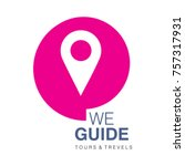 tour and travel logo  tour and... | Shutterstock .eps vector #757317931