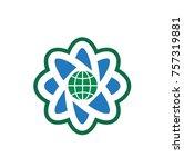 pure science  logo | Shutterstock .eps vector #757319881