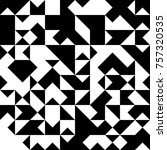 black and white  abstract... | Shutterstock .eps vector #757320535