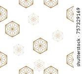 japanese pattern seamless... | Shutterstock .eps vector #757329169