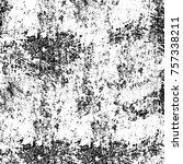 monochrome grunge background | Shutterstock . vector #757338211