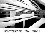 abstract dynamic interior with... | Shutterstock . vector #757370641