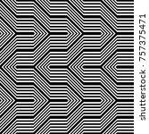 design seamless monochrome... | Shutterstock .eps vector #757375471