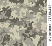 digital camouflage pattern ...   Shutterstock .eps vector #757381897