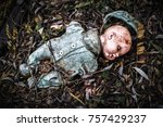 Abandoned Old Broken Baby Doll...